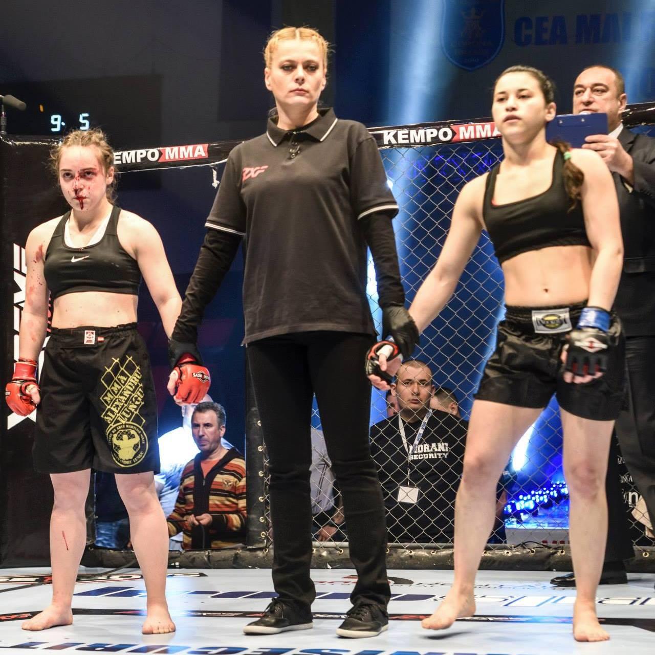 Maia Buzaș (stânga) și Delia Georgescu (dreapta) / Foto: Facebook