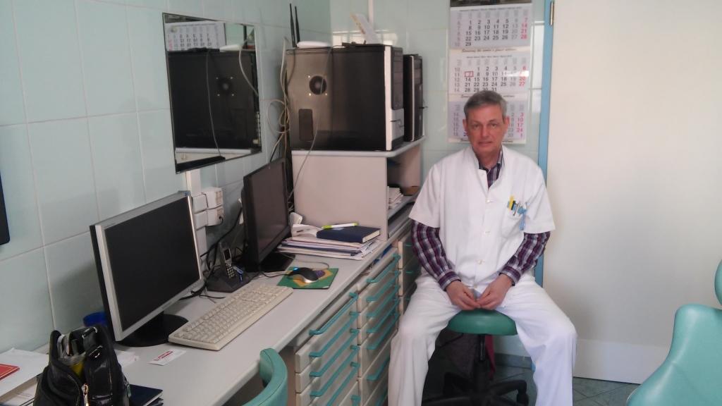Medic Florian Andrei (foto. Justin Gafiuc)
